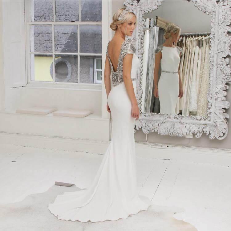 Tarik Ediz Wedding Dress | Discount Designer