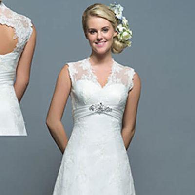 White Rose Bridal R816